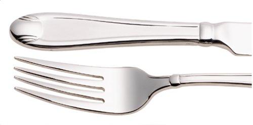 Oneida Flourish - Oneida Satin Garnet 65-Piece Flatware Set with Caddy, Service for 12