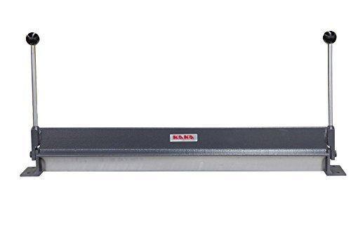 - KAKA W1.2x760 30-Inch Sheet Metal Bending Brake, 18 Gauge Mild Steel and 16 Gauge Aluminum