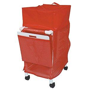 MJM International WT1014 Wood Tone Hood Cover Option for Crash Cart