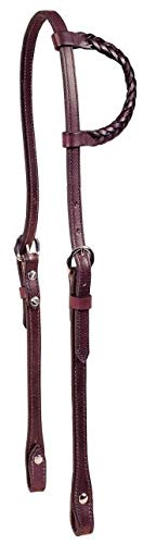 - Tory Leather Braided one Ear Headstall - London