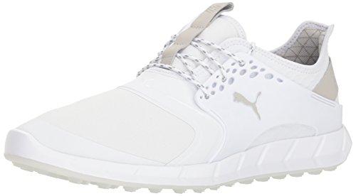 PUMA Golf Men's Ignite Pwrsport Pro Golf Shoe, White, 11.5 M US