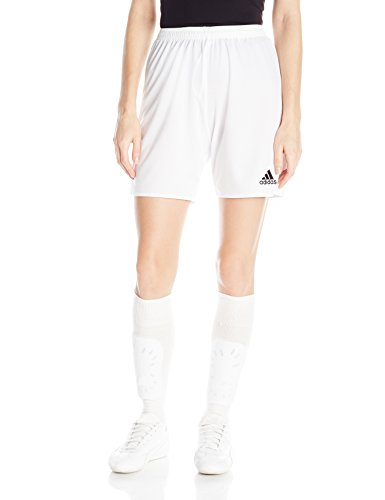 adidas Women's Parma 16 Soccer Shorts, White/Black, ()