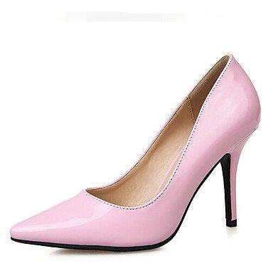 ggx LvYuan 3 Black White Slingback 3 eu35 white 3in us5 Heels Slingback PU uk3 Casual 4in Spring Blushing cn34 Pink Women's d64wrq6