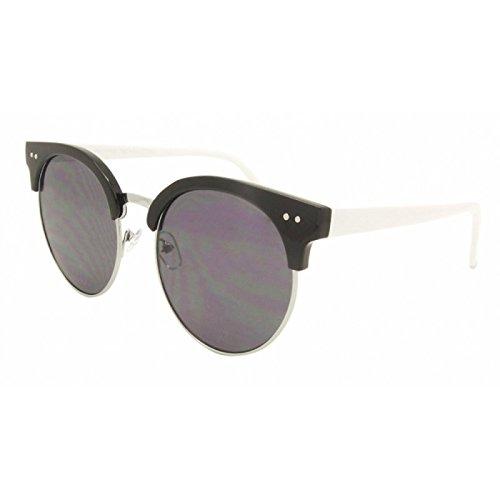 Chic-Net Gafas redondas plana gafas de sol clásico Rocky ...