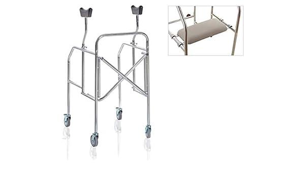 andador axilas para personas mayores Plegable de acero lacado ...