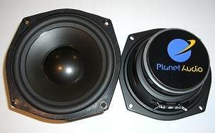 "50w Mid Range - Planet Audio P5MB, 5.25"" (13cm) Mid-Range Speaker, 50Watt RMS"