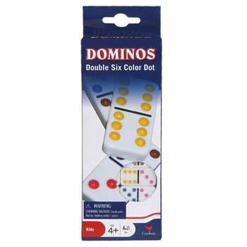 Dominos Double Six Color Dot by Cardinal