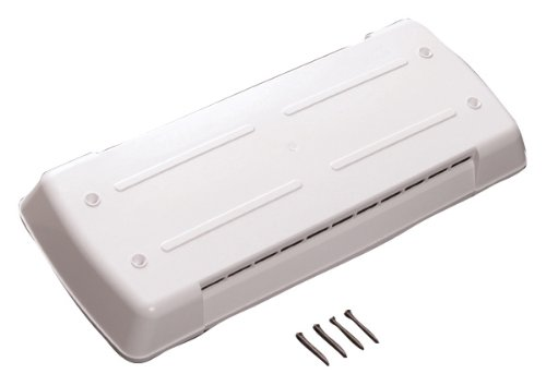 Ventmate 65528 Polar White Direct Replacement Dometic Refrigerator New Style Vent Lid (Vent Part)