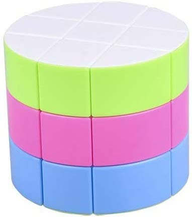 Ghanshyam Innovations 3x3 Barrel Magic Rubiks Cube, Highly Stable and High Speed 3D Puzzle Rubix Cube