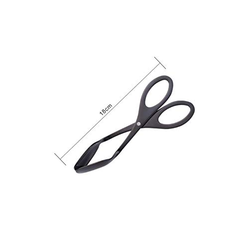 Stainless Steel Kitchen Tongscreative Stainless Steel Rose Gold Food Buffet Clip Bread Barbecue Cake Pastry Clip Tongs Baking Tool Home Kitchen - Purp Scissors