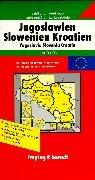 Freytag Berndt Karten, Europaserie, Jugoslawien, Slowenien, Kroatien