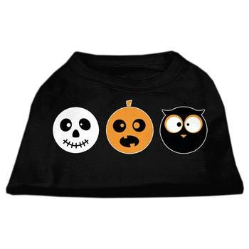 (Mirage The Spook Trio Halloween Dog T-Shirt - Black)
