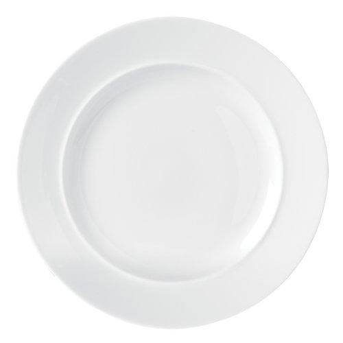 Dansk Café Blanc Dinner Plate, White - 42801WH