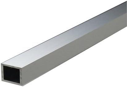 アルミ不等辺角パイプ 2.0x50x100x5000mm(2M+2M+1M) シルバーED(ツヤ有)
