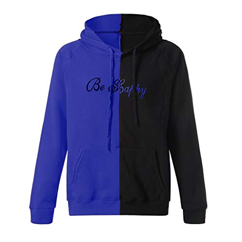 Haut Longues Happiness À shirt Pull Bleu Sweatshirt Col Face Sweat Manches Homme Gilet Casual Tops Innerternet Imprime Cher Mode Pas Capuche Smile nXdaz6