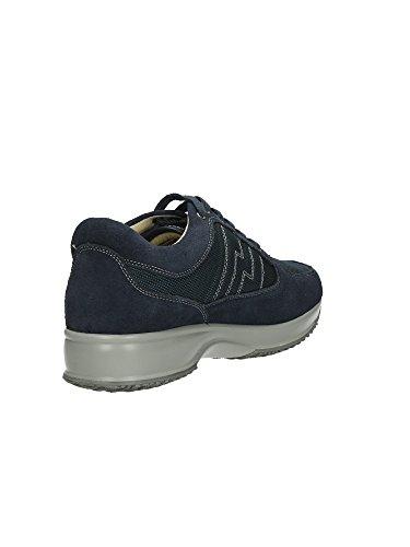Lumberjack 1569 Sneakers Hombre Cuero Rigido Blu