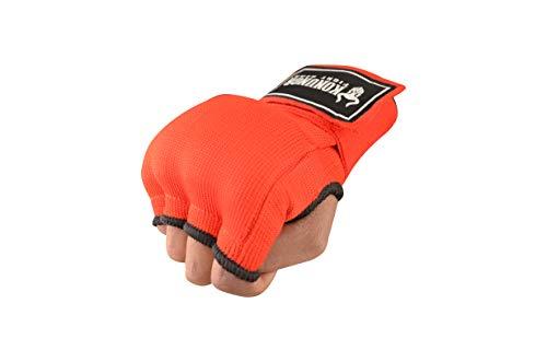 KONUNGR Quick Hand Wrap Gel Gloves – Best for Boxing Training – Padded Inner Gloves – Elastic Hand Wraps Boxing for Men…