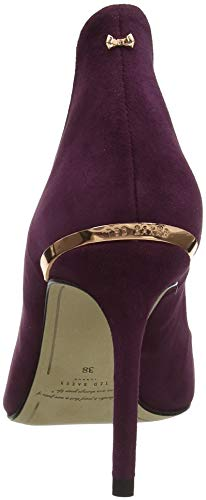 Heels 2 Women''s Red burgundy Baker Ted Savio Closed toe tRYqx