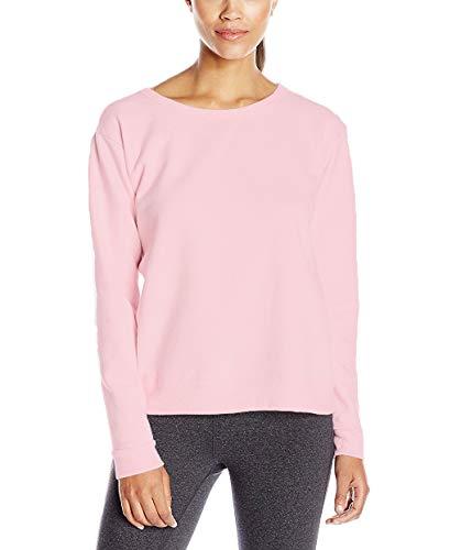 Hanes ComfortBlend Women's Sweatshirt, Soft Sweats, Paleo Pink, ()