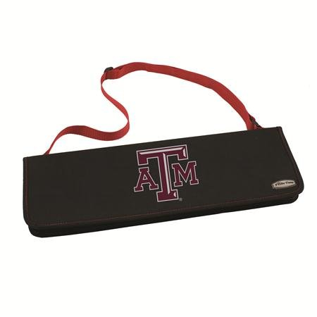 - NCAA Texas A&M Aggies Metro 3-Piece BBQ Tool Set in Carry Case
