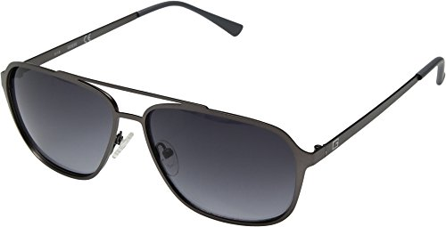 GUESS Mens GF0184 Satin Gunmetal/Smoke Gradient Lenses One Size