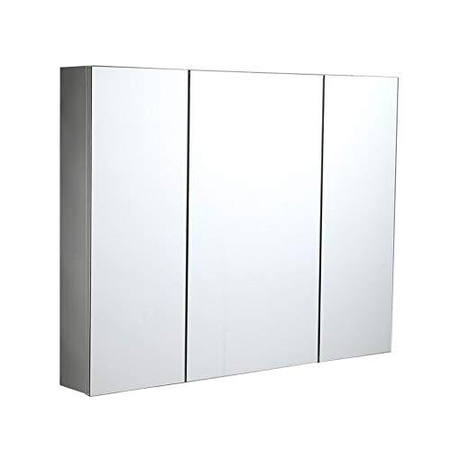RKRZLB Bathroom Cabinet/Bathroom Mirror Cabinet/LED Illuminated Bathroom Mirrors Wall Mounted with Lights -