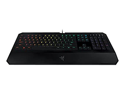 470dc70335a Image Unavailable. Image not available for. Color: Razer DeathStalker  Chroma - Multi-Color RGB Membrane Gaming Keyboard