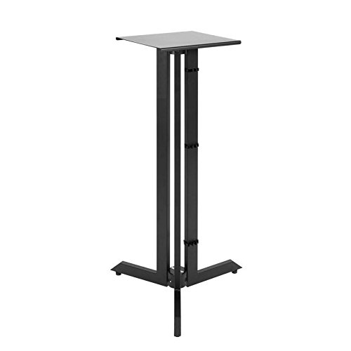 Quik Lok BS-542 Triple Column Near Field Monitor Stands 42'' Fixed Height Black Pair by Quik-Lok