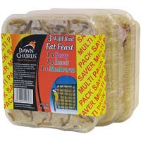 Dawn Chorus 24 Pack Fat Feast For Wild Birds With Mealworms, Berries and Insects Flavours Twootz