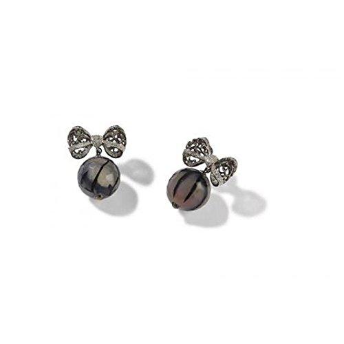 Boucles d'Oreille-Misis éléments de nature or08278c Argent Oxyde de Zirconium