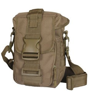 PREPPER'S FAVORITE: Emergency Get Home Bag with First Aid Kit, Water Filter, Food, Fire, Tools and Shelter. Ideal Compact Bug Out Bag, Earthquake Kit, EDC or 72 Hr Kit. Tactical Shoulder Bag Model by Prepper's Favorite (Image #2)