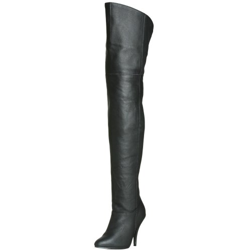 Pleaser LEGEND-8868 - Botas para mujer Blk Leather (P)