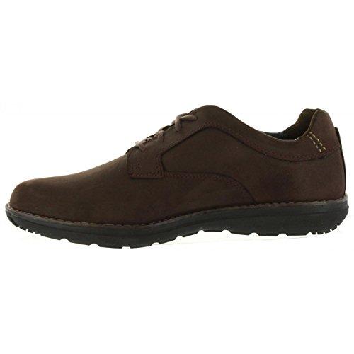 Hommes Pt Barrett Lacées Timberland Brun Chaussures 8HTPWwxq