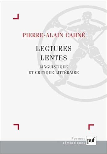 Livre Lectures lentes epub, pdf