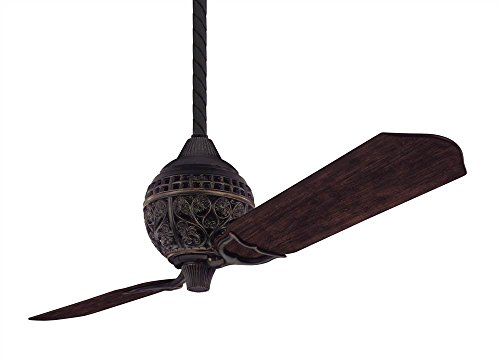 1886 Limited Edition 60 in. Ceiling Fan in Midas Black Finish
