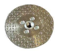 Abtec 115Mm (4 1/2') Diameter Diamond Coated Wheel (Vanity Blade)