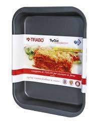 Trabo BB002 Lasagne in Teflon Tray, Black