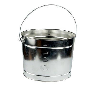 Bucket 5 Quart Metal Pail (5 qt. Metal Pail - 8-3/16