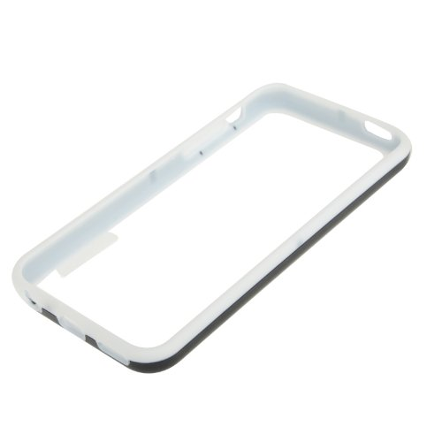 "iPhone 5C Premium Bumper in schwarz aus Silikon / TPU im ""2-Color-Style"" -Original nur von THESMARTGUARD-"