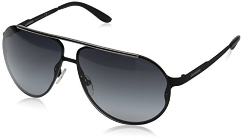 Carrera Ca90s Aviator, Matte Black, 65 ()