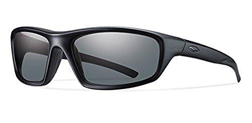 Smith Director Elite Sunglasses Black/Polarized Gray & Cleaning Kit ()