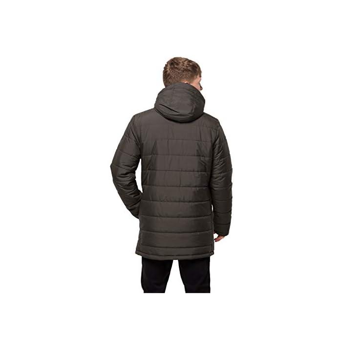 31A2izw76HL Abrigo corto acolchado Resistente al viento y al agua 100% Poliéster
