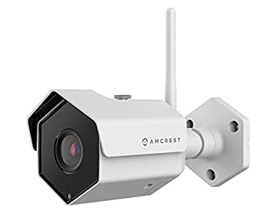 Amcrest 1080P Outdoor WiFi Security Camera, 2MP Wireless IP Camera IP2M-852 V2 (New 2018 Version - Updated Firmware) by Amcrest