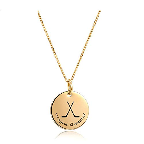 Easter Basket Gifts Lacrosse Sports Necklace Custom Player Name Jersey ID Jewelry Gift for Mom Girlfriend (Custom Soccer Necklace)