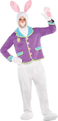 Amscan 840016 Easter Bunny Value Costume Party Supplies, One Size, Multicolored