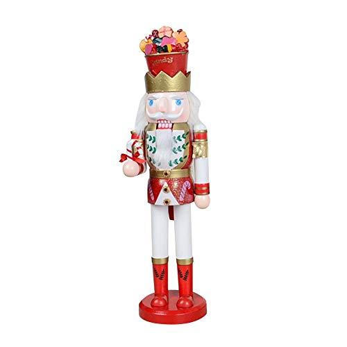 Christmas Nutcracker Puppet Gift Candy Man Shape Nutcracker Puppet Figures ()