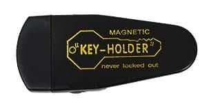 Hide A Key Under Car Magnet Key Case Large Black