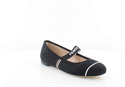 (Fendi Maryjane Women's Flats & Oxfords Black Size 7.5 M)