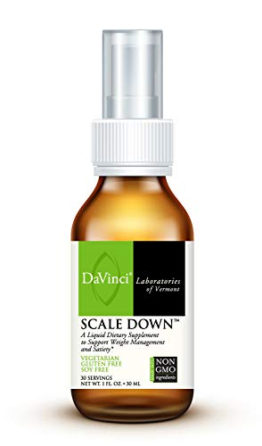 DaVinci Laboratories of Vermont of Vermont - Scale Down, Liquid Weight Management Supplement with Dyglofit, 30 Servings, Vegetarian