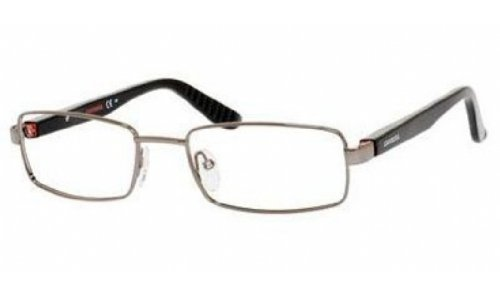 Carrera 8803 Eyeglass Frames CA8803-00RK-5519 - Dark Ruthenium  Smoke Frame Lens Diameter 55mm